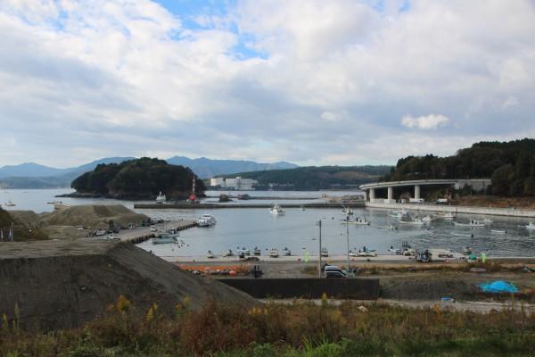 【おでってレポート】明神崎復興支縁道整備 途中報告