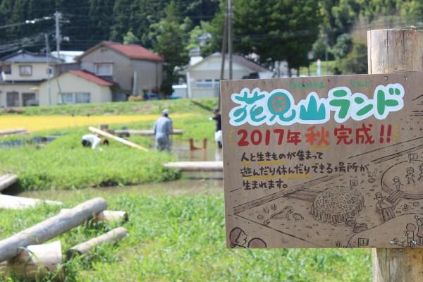入谷打ち囃子&花見山ランド完成!