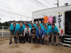 10月7日チーム南三陸真備訪問
